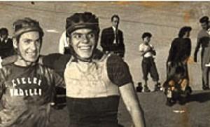 Mi padre siempre en su bicicleta