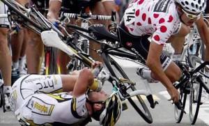 Lesiones más frecuentes en el ciclismo