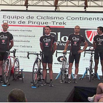 """El primer Equipo Continental de Chile """"Clos de Pirque"""""""