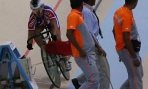 Declaraciones de Curuchet y Ovideo ex ciclistas por accidente en la Pista