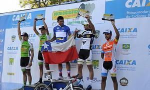 José Luis Rodríguez campeón de la Vuelta Ciclista Internacional de Rio Grande do Sul