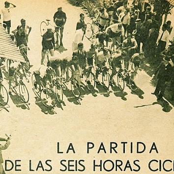 La partida de las Seis Horas Ciclistas