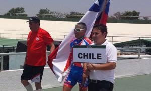 Una excelente jornada para la delegación de Chile