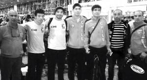 Chilenos en la Copa del Mundo de Ciclismo de Pista
