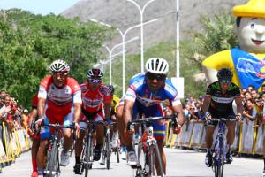 Selección de ruta en la Vuelta Venezuela