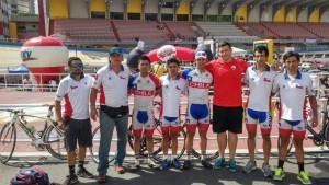 Cristhofer Mansilla el mas Rápido en la Vuelta a Venezuela