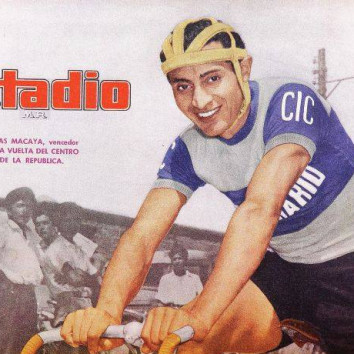 Isaías Macaya campeón de la Vuelta al Centro de la República, origen de la Vuelta Chile