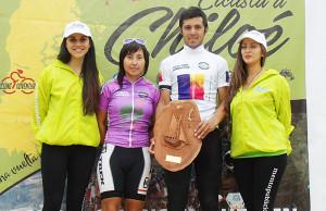 Germán Bustamante, campeón de la Primera Vuelta Ciclista a Chiloé