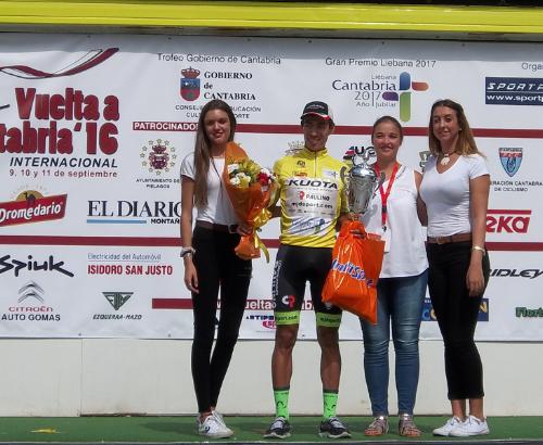 Elías Tello se impone en la Vuelta a Cantabria Internacional 2016