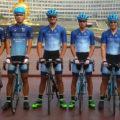 Cristóbal Olavarría en el Tour de Hainan China