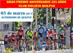 Primera fecha de ciclismo por la 5ta región