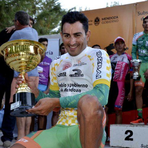 Juan Pablo Dotti Tricampeón de la Vuelta de Mendoza