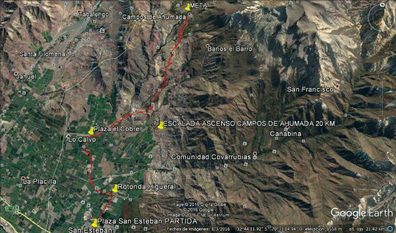mapa carrera san esteban