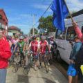 Competencia ciclística interregional en la ciudad de La Ligua