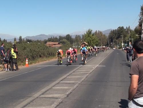 Nacional Laboral de Ciclismo en Villa Alegre, región del Maule