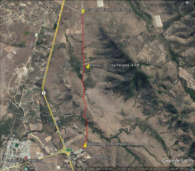 mapa carrera blanquillo