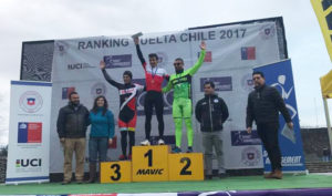 Accidentada III fecha del ranking clasificatorio para la Vuelta a Chile