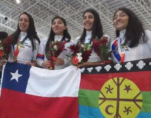 Juveniles de oro, plata y bronce en Panamericano de Ciclismo en Cochabamba