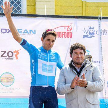 Óscar Sevilla ganó el prólogo de la Vuelta Ciclista a Chiloé