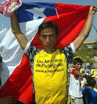 """Después de 27 años triunfa un chileno en """"Etapa Reina"""" de la Vuelta"""