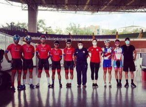 Selección de Pista al torneo Internacional de pista UCI en Cali